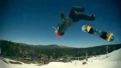 Truco de snowboard