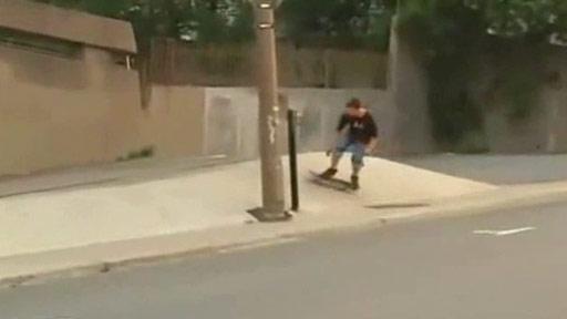 Skate doble fail