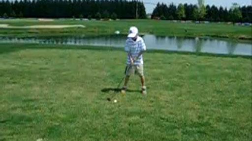 Iniciándose al golf
