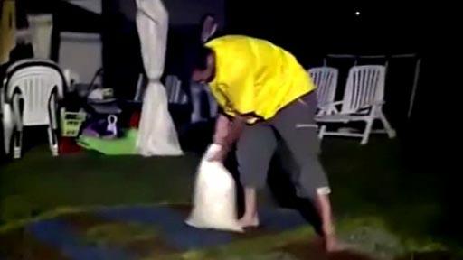 Lanzamiento de saco