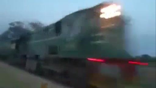 Lavando el tren