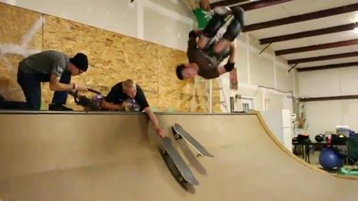 Cambio de skate 360º