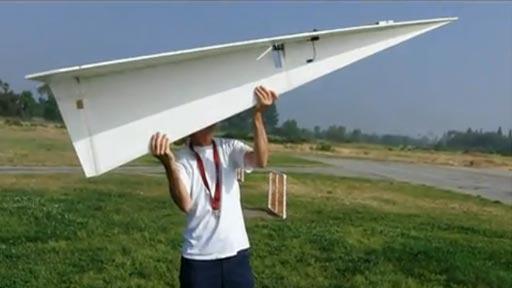 Avión de papel RC