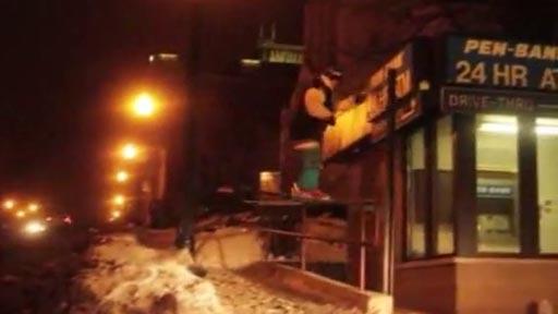 Esquí en la calle