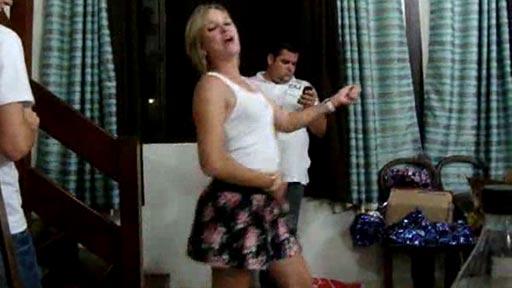 Bailando con alegría!