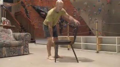 Ejercicio con silla