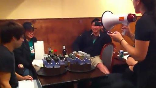La bomba de sake