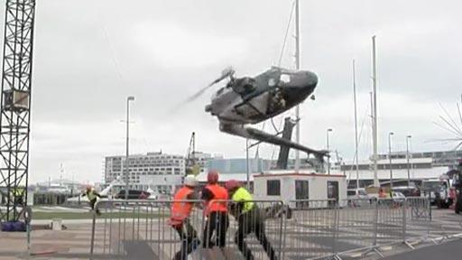 Accidente helicóptero