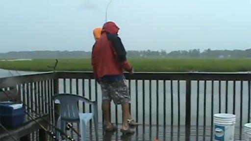 Sorpresa pescando