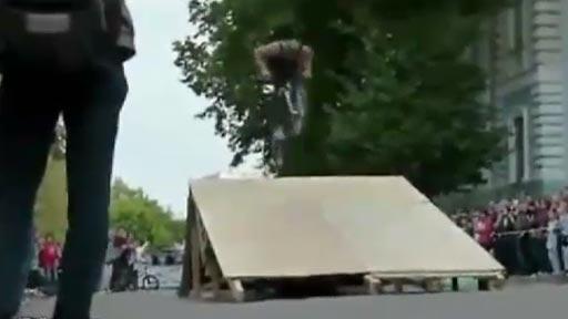 Frontflip en bici