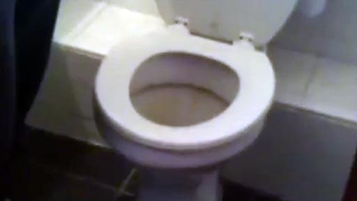 Desatascando un WC