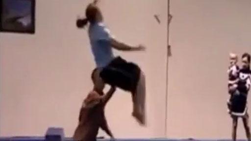 Entrenando saltos