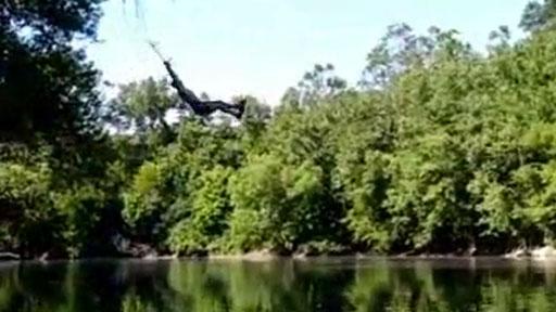 Salto al lago