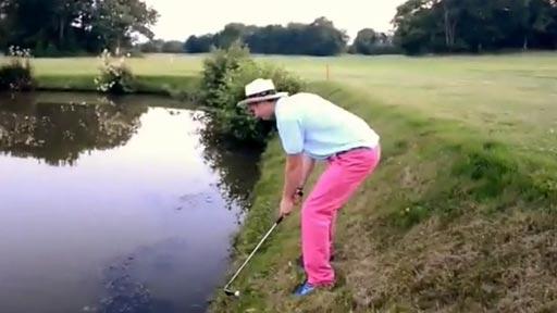 Golfista borracho