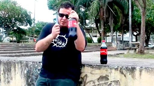 Tragar Cola y Mentos