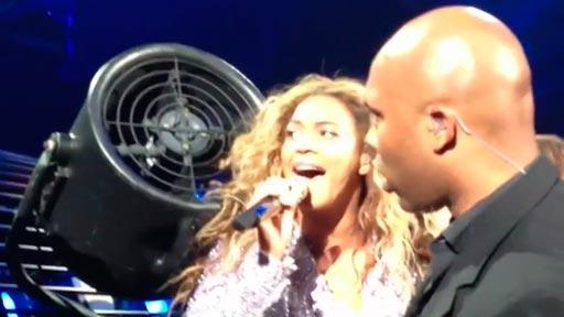 Beyoncé Vs ventilador