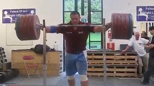290 kilos sin manos