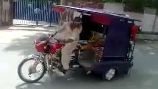 Caballito en mototaxi