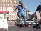 El hoverboard!!!