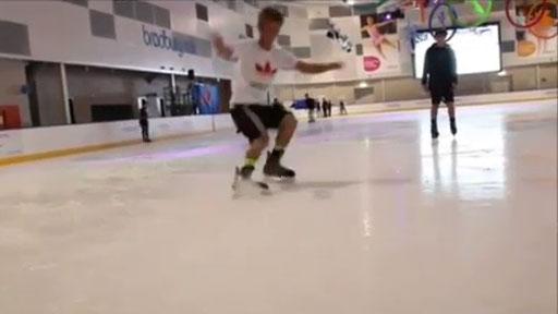 Derrape en hielo