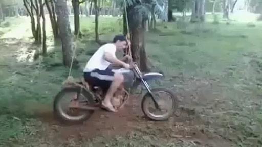 Moto balancín