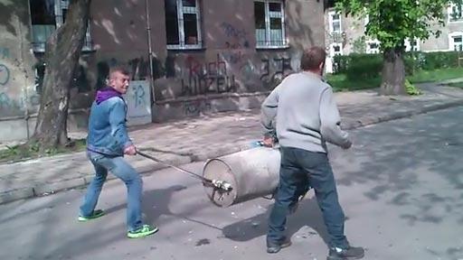Explosión en Polonia