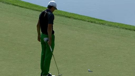 Paciencia en el golf