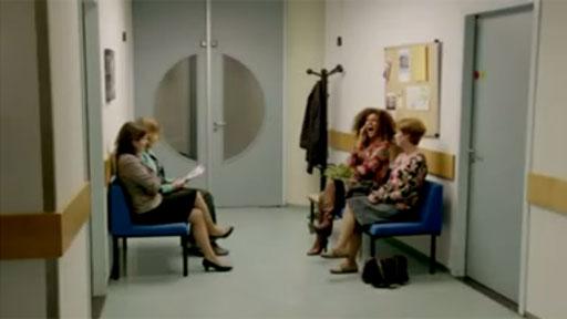 En la sala de espera