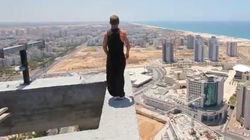A 150m de altura