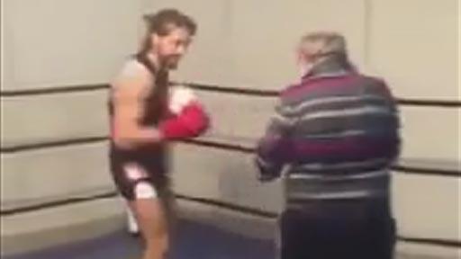 Abuelo boxeador