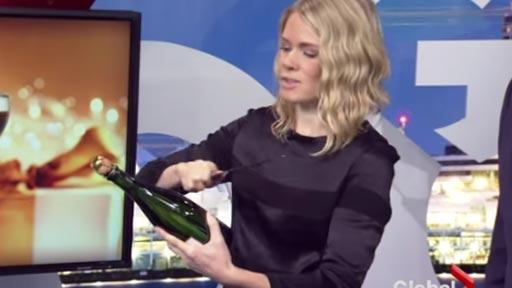 Truco con el champán