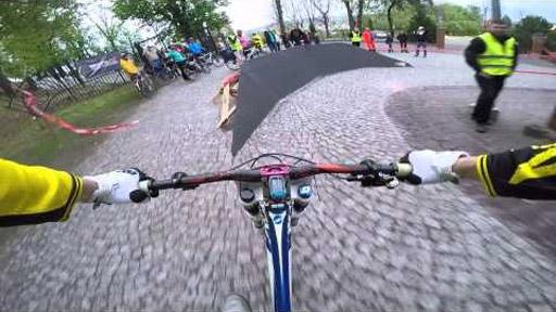 Descenso en bici