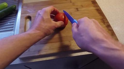 Afilando un cuchillo