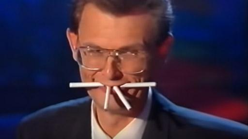 Magia con cigarrillos