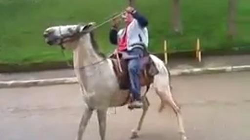 Borracho a caballo