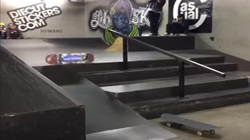 Trucazo con el skate