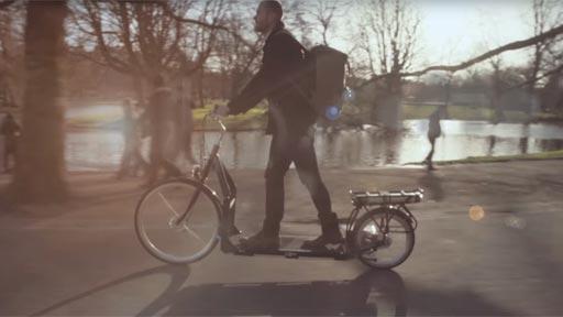 Una bici para caminar