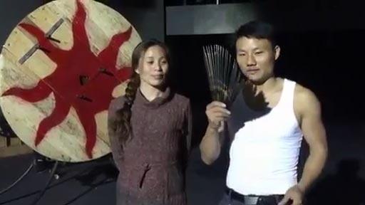 Lanzador de cuchillos