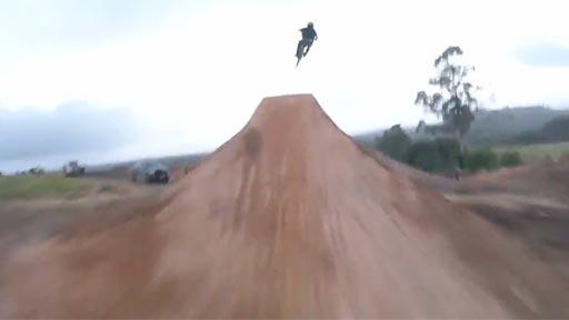 Lo más parecido a volar en bicicleta