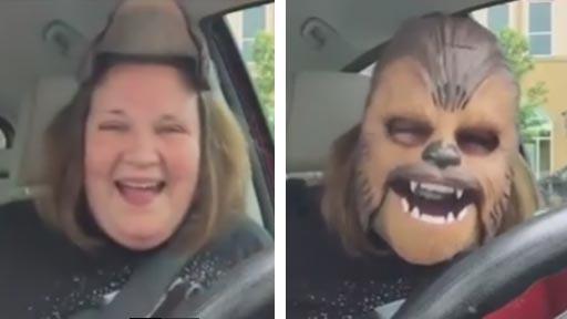 Mamá Chewbacca