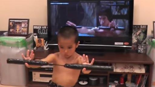 Vuelve el mini Bruce Lee