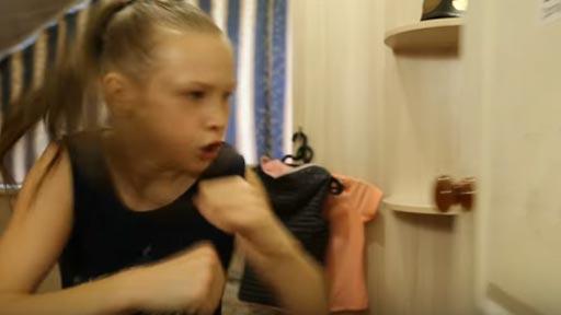 La niña rusa que sorprende al mundo de las MMA