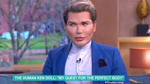 El muñeco Ken humano