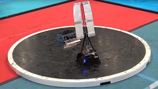 Lucha de robots extremadamente rápidos