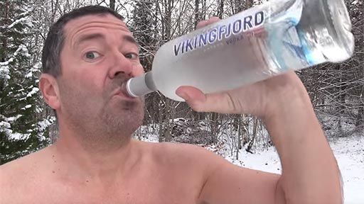 Las primeras nevadas de Noruega