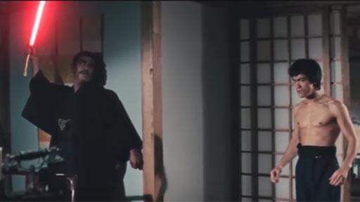 ¿Y si Bruce Lee fuese un maestro Jedi?