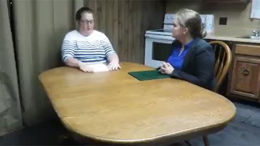 Una entrevista simulada
