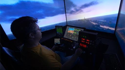 Simulador de vuelo en 12K