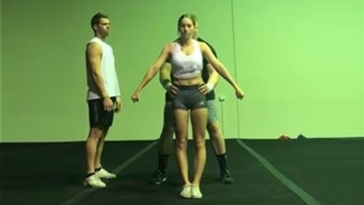 Cheerleader suertuda
