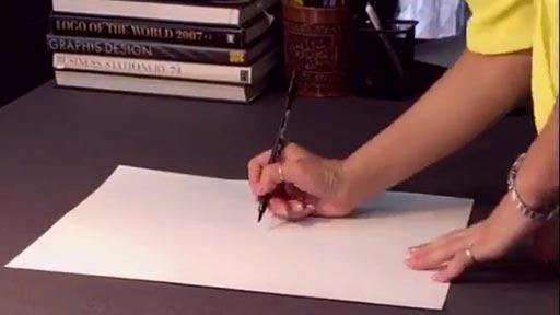 Marilyn fotorrealista dibujada en espiral